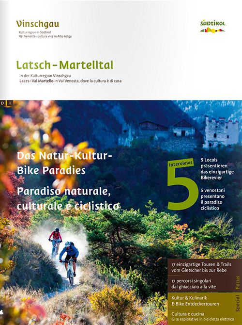 Bike Magazin Latsch-Martell